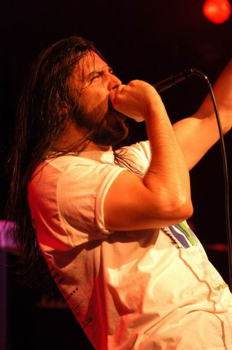 Live concert photography of Andrew W.K. at Bogart's in Cincinnati, OH by Wayne Dennon © Dennon Photography