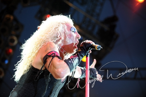 Live concerts photographs of Twisted Sister  at Rock the Bayou grounds in Houston, TX 09/01/2008 by Wayne Dennon © Dennon Photography