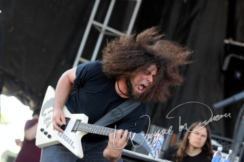 Live concert photography of Coheed & Cambria at Columbus Crew Stadium in Columbus, OH by Wayne Dennon © Dennon Photography