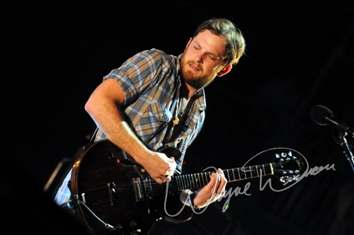 Live concert photography of Kings of Leon at Bonnaroo in Manchester, TN by Wayne Dennon © Dennon Photography