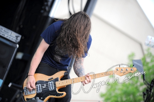 Live concert photography of Violent Soho at Columbus Crew Stadium in Columbus, OH by Wayne Dennon © Dennon Photography