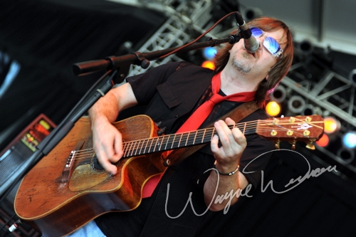 Live concert photography of Monte Montgomery at Bonnaroo in Manchester, TN by Wayne Dennon © Dennon Photography