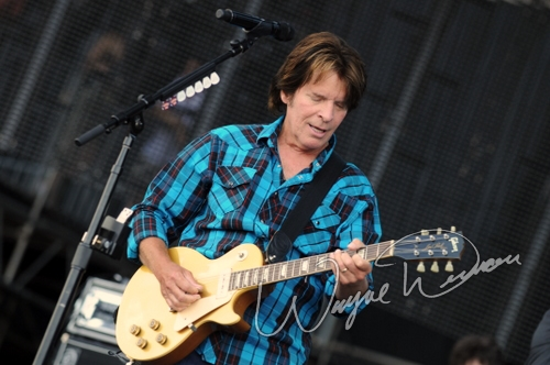 Live concert photography of John Fogerty at Bonnaroo in Manchester, TN by Wayne Dennon © Dennon Photography