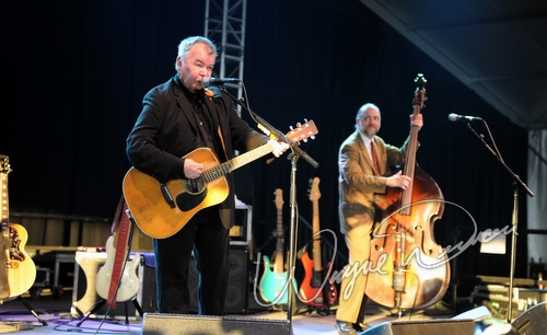 Live concert photography of John Prine at Bonnaroo in Manchester, TN by Wayne Dennon © Dennon Photography