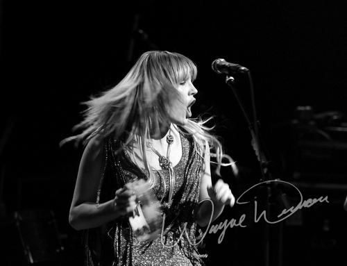 Live concerts photographs of Grace Potter and the Nocturnals  at Madison Theater in Covington, KY 01/13/2011 by Wayne Dennon © Dennon Photography