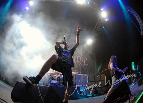 Live concert photography of Lamb Of God at U.S. Bank Arena in Cincinnati, OH by Wayne Dennon © Dennon Photography