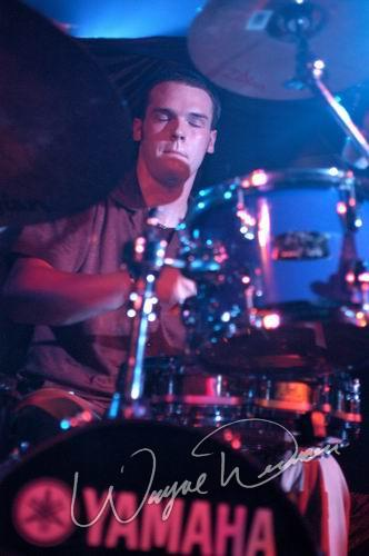 Live concert photography of Lojic at Jillian's in Louisville, KY by Wayne Dennon © Dennon Photography