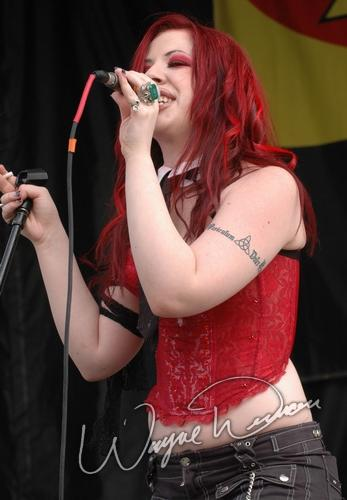 Live concert photography of Megan McCauley at X-Fest in Indianapolis, IN by Wayne Dennon © Dennon Photography