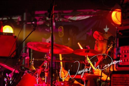 Live concert photography of Bret Michaels at Annie's in Cincinnati, OH by Wayne Dennon © Dennon Photography