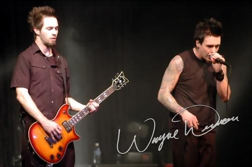 Live concert photography of Papa Roach at The Murat Centre in Indianapolis, IN by Wayne Dennon © Dennon Photography
