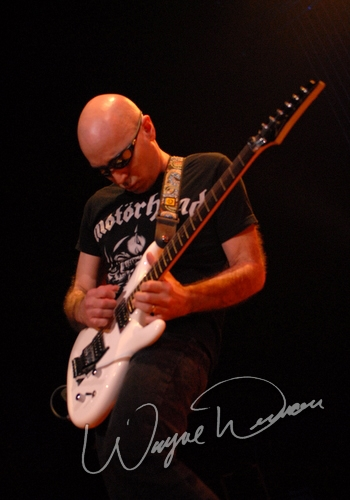 Live concert photography of Joe Satriani at Taft Theatre in Cincinnati, OH by Wayne Dennon © Dennon Photography