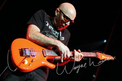 Live concerts photographs of Joe Satriani  at Aronoff Center in Cincinnati, OH 12/07/2010 by Wayne Dennon © Dennon Photography