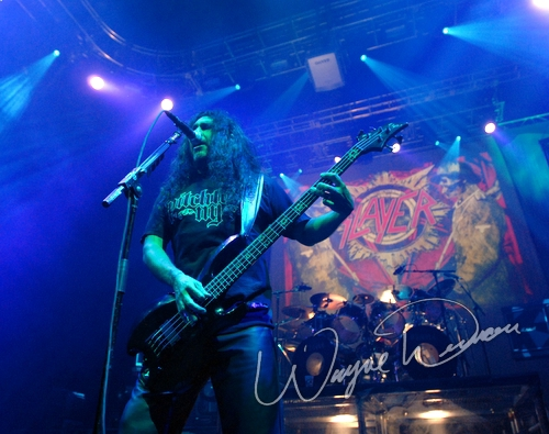 Live concert photography of Slayer at U.S. Bank Arena in Cincinnati, OH by Wayne Dennon © Dennon Photography