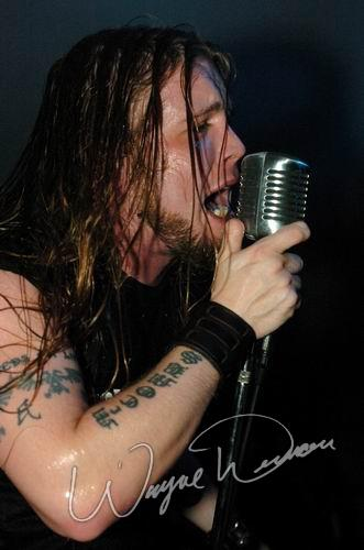 Live concert photography of Soil at JT Bailey's in Evansville, IN by Wayne Dennon © Dennon Photography