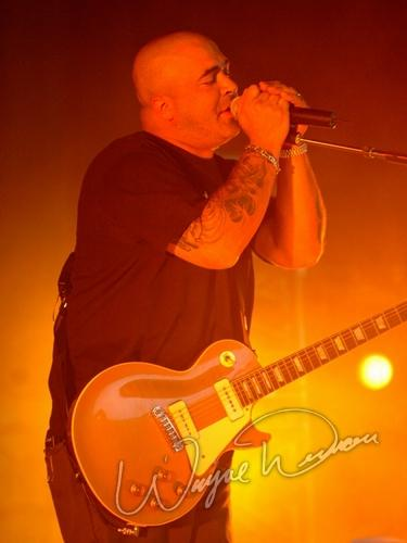 Live concerts photographs of Staind  at Germain Amphitheater in Columbus, OH 07/23/2005 by Wayne Dennon © Dennon Photography