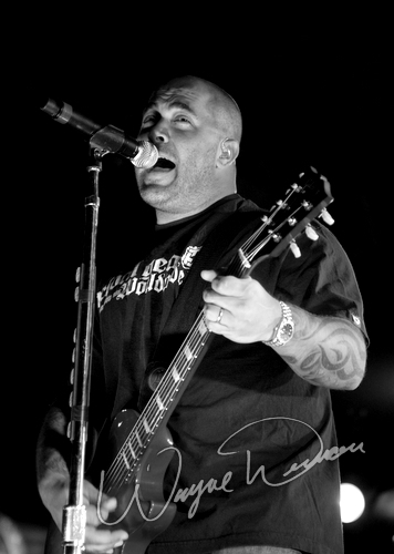 Live concert photography of Staind at Jillian's in Louisville, KY by Wayne Dennon © Dennon Photography