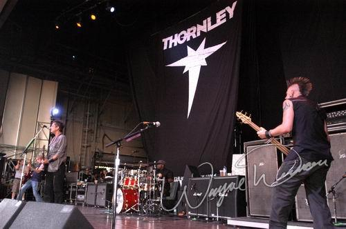 Live concert photography of Thornley at Riverbend Music Center in Cincinnati, OH by Wayne Dennon © Dennon Photography