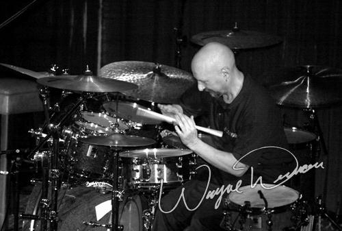 Live concert photography of Vital Information at Gilly's in Dayton, OH by Wayne Dennon © Dennon Photography