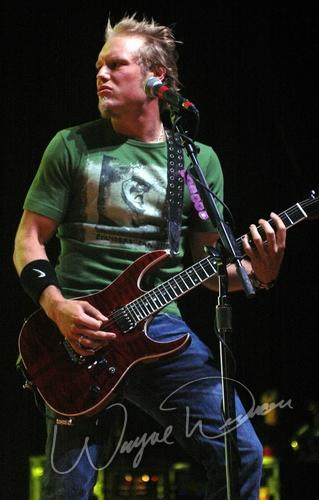 Live concert photography of 3 Doors Down at Germain Amphitheater in Columbus, OH by Wayne Dennon © Dennon Photography