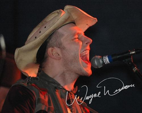 Live concerts photographs of Hank Williams III  at 20th Century Theater in Cincinnati, OH 04/21/2005 by Wayne Dennon © Dennon Photography