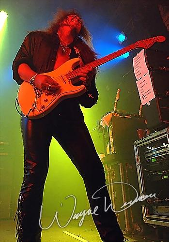 Live concert photography of Yngwie Malmsteen at Bogart's in Cincinnati, OH by Wayne Dennon © Dennon Photography