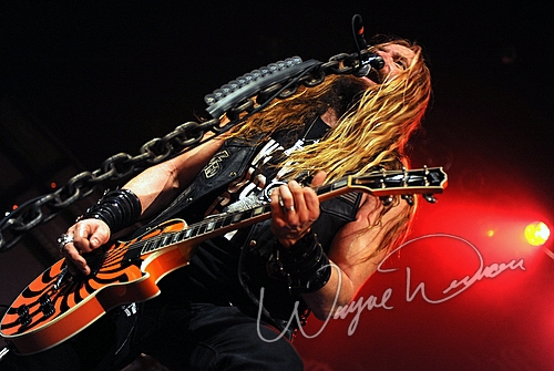 Live concert photography of Black Label Society at Madison Theater in Covington, KY by Wayne Dennon © Dennon Photography