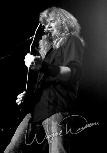 Live concert photography of Megadeth at Annie's in Cincinnati, OH by Wayne Dennon © Dennon Photography