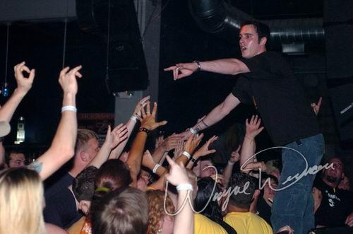 Live concert photography of Breaking Benjamin at The Foundry in Dayton, OH by Wayne Dennon © Dennon Photography