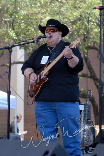 Live concert photography of Johnny Hiland at Dallas Market Hall in Dallas, TX by Wayne Dennon © Dennon Photography
