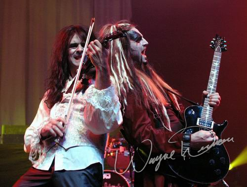 Live concert photography of Van Helsing's Curse at NAMM Show 2006 in Anaheim, CA by Wayne Dennon © Dennon Photography