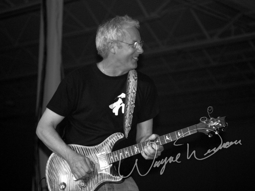 Live concert photography of Paul Reed Smith at Dallas Market Hall in Dallas, TX by Wayne Dennon © Dennon Photography