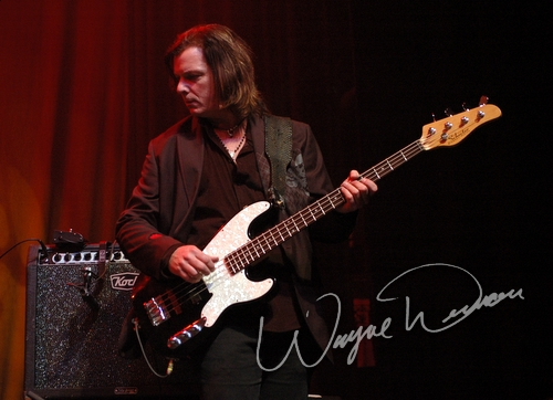 Live concert photography of Troy Patrick Farrell at NAMM Show 2006 in Anaheim, CA by Wayne Dennon © Dennon Photography