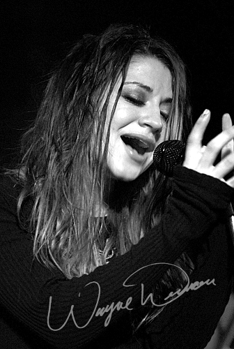 Live concert photography of Flyleaf at 20th Century Theater in Cincinnati, OH by Wayne Dennon © Dennon Photography