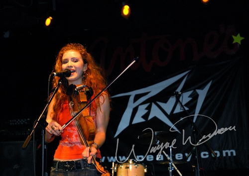Live concert photography of Megan Mullins at Antones in Austin, TX by Wayne Dennon © Dennon Photography