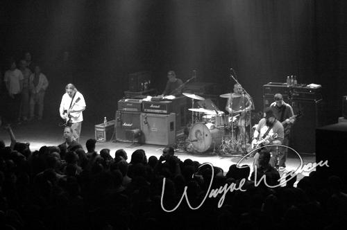 Live concert photography of Clutch at State Theatre in Detroit, MI by Wayne Dennon © Dennon Photography