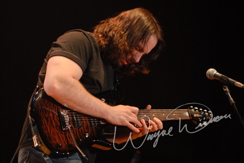 Live concert photography of John Petrucci at Taft Theatre in Cincinnati, OH by Wayne Dennon © Dennon Photography