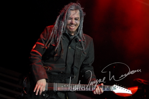 Live concert photography of Korn at Verizon Wireless Music Center in Noblesville, IN by Wayne Dennon © Dennon Photography