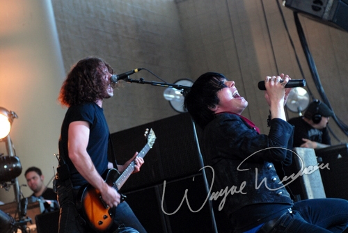 Live concert photography of My Chemical Romance at Verizon Wireless Music Center in Noblesville, IN by Wayne Dennon © Dennon Photography