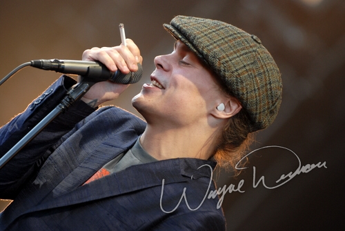 Live concert photography of HIM at Verizon Wireless Music Center in Noblesville, IN by Wayne Dennon © Dennon Photography