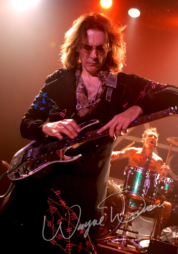 Live concert photography of Steve Vai at The Fillmore NY @ Irving Plaza in New York, NY by Wayne Dennon © Dennon Photography