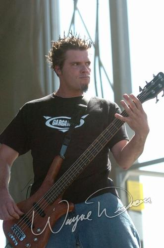 Live concert photography of Crossfade at X-Fest in Dayton, OH by Wayne Dennon © Dennon Photography