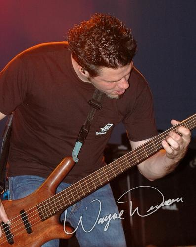 Live concert photography of Crossfade at Jillian's in Louisville, KY by Wayne Dennon © Dennon Photography
