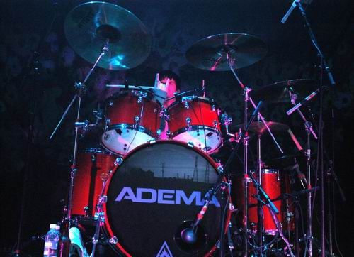 Live concert photography of Adema at Taft Theatre in Cincinnati, OH by Wayne Dennon © Dennon Photography