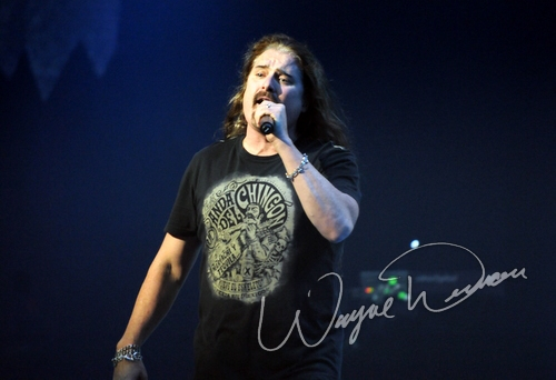 Live concert photography of Dream Theater at Chicago Theatre in Chicago, IL by Wayne Dennon © Dennon Photography