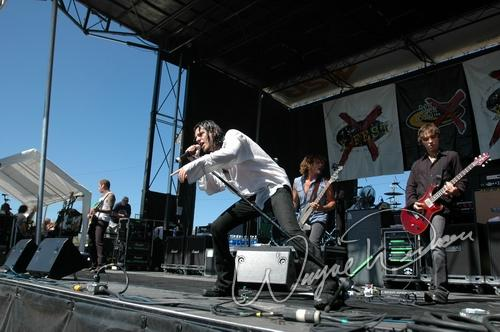 Live concert photography of Earshot at X-Fest in Dayton, OH by Wayne Dennon © Dennon Photography