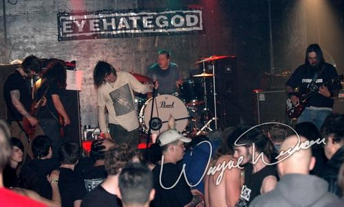 Live concert photography of Eyehategod at The Emerson Theater in Indianapolis, IN by Wayne Dennon © Dennon Photography