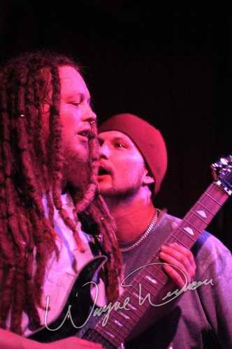 Live concert photography of Flaw at Headliners Music Hall in Louisville, KY by Wayne Dennon © Dennon Photography