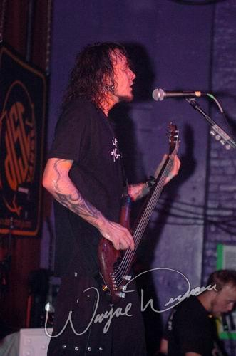 Live concert photography of Flaw at Blue Cat's in Knoxville, TN by Wayne Dennon © Dennon Photography